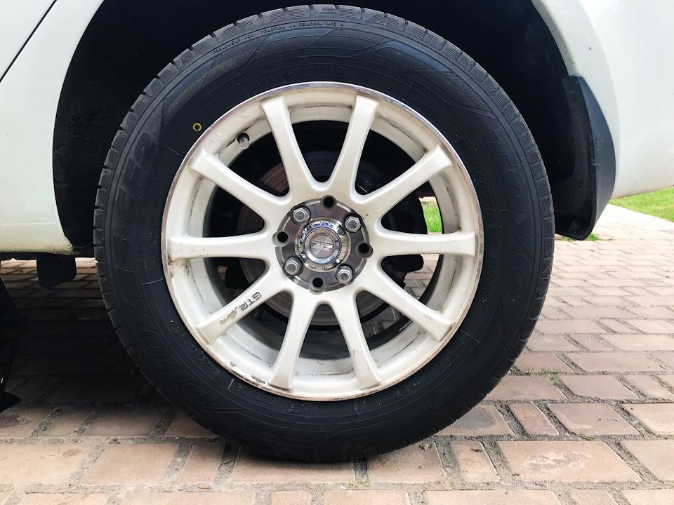Откручиваем колесо на Киа Рио 3