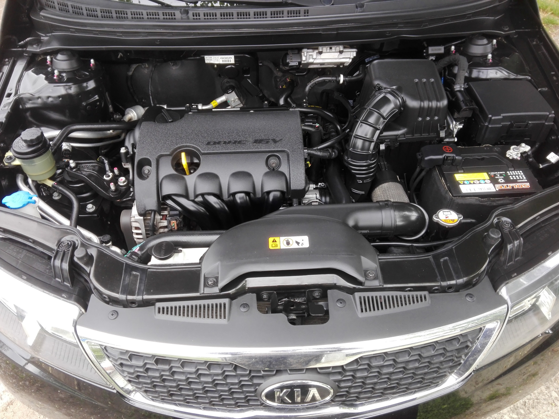 киа серато 2012 двигатель