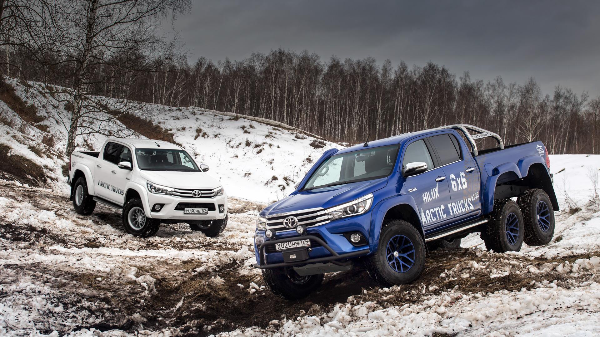 Тойота Хайлюкс Arctic Trucks