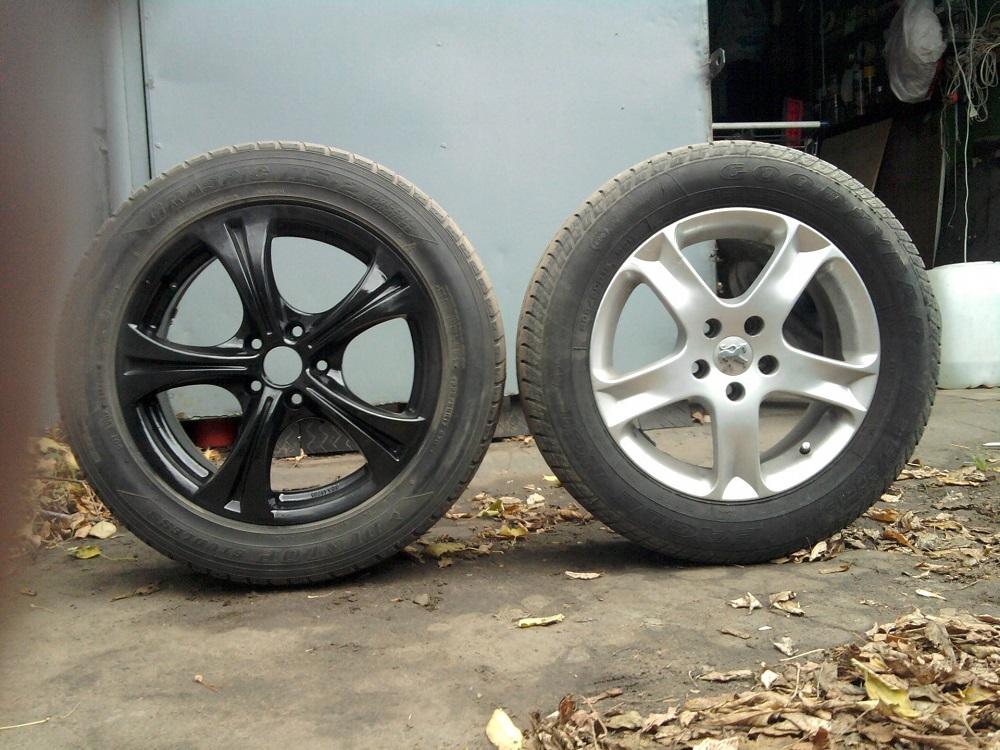Отличие дисков R16 и R17