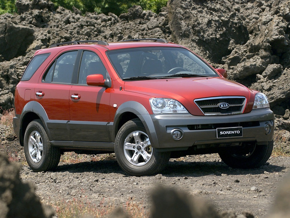 размер шин на На Kia Sorento I 2002-2009 года выпуска