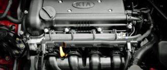 Двигатели «Киа Рио»