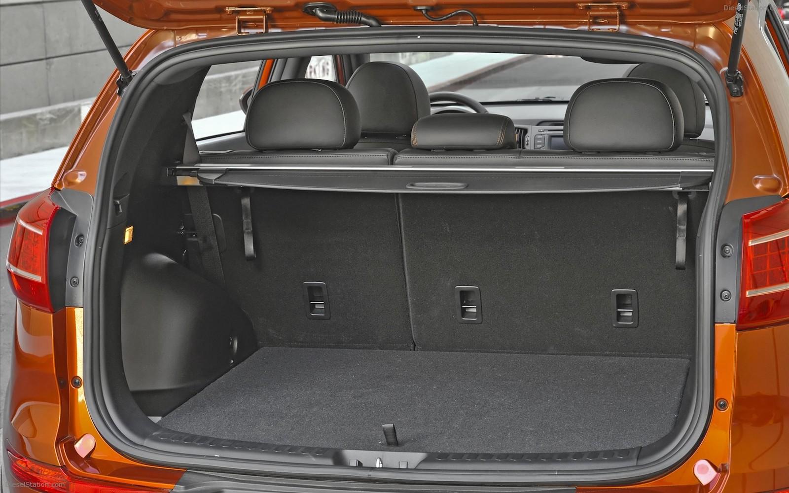 Объем багажника Kia Sportage 3