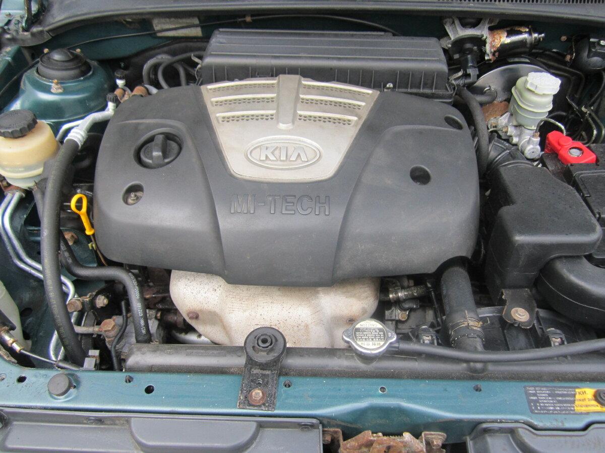 Kia Rio 2004 год универсал двигатель
